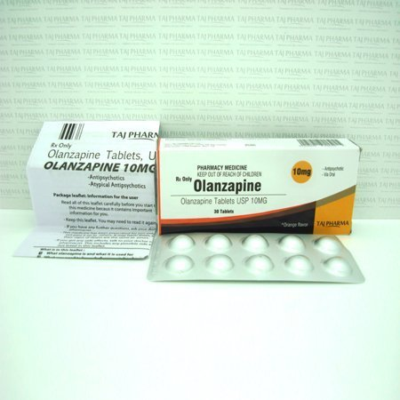 Olanzapine 10mg Tablet-